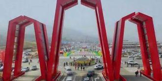 航拍:2016年汉中油菜花节