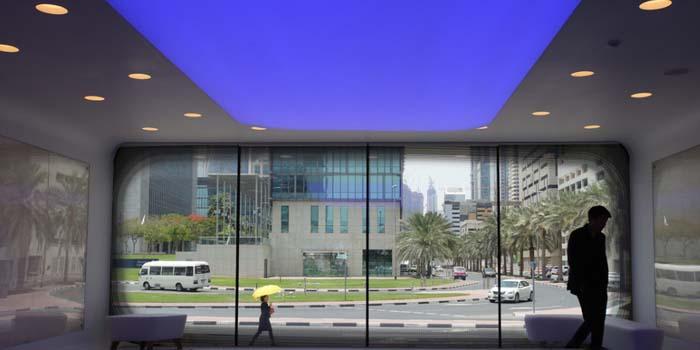 不用去迪拜,带你看看世界首座3D打印办公室