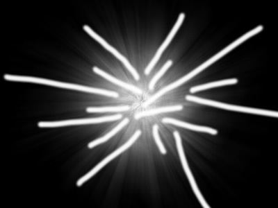 Fireworks光影效果的简便制作
