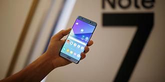 心疼!刀砍锤击三星Galaxy Note 7