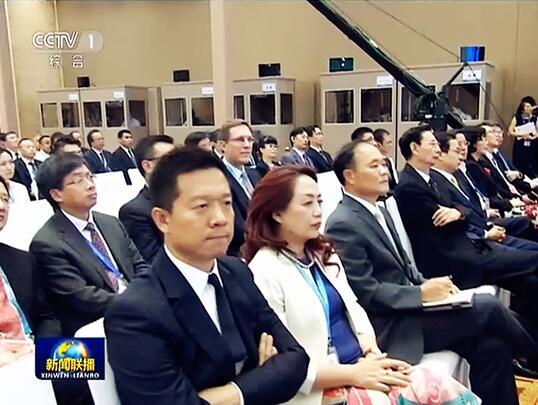 贾跃亭出席G20工商峰会