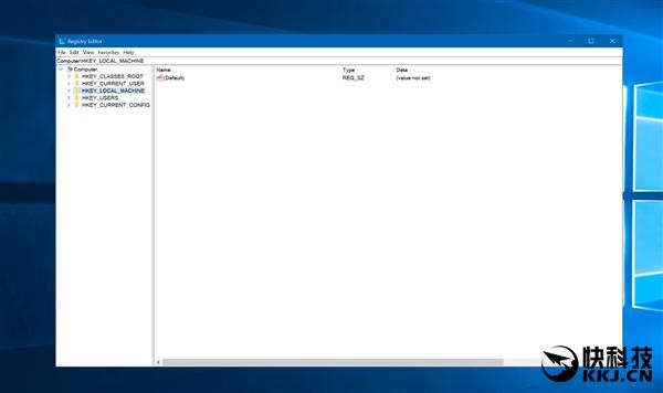 Win10新版14942首次为注册表加入地址栏:可粘贴定位