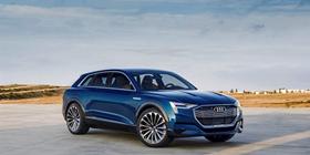 奥迪首款纯电动SUV将取名为e-tron,2018年亮相