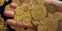 惊呆!300年前的沉船被发现,他们捞出了价值超3千万的金币