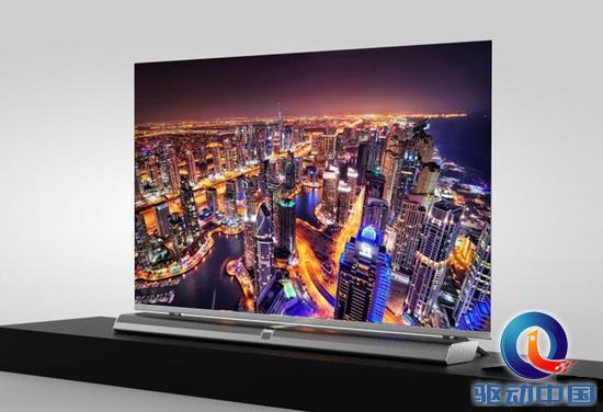 乐视超级电视u65发布:全球首款无边框分体电视