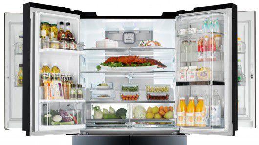 图]LG超大容量门中门冰箱将亮相CES大展
