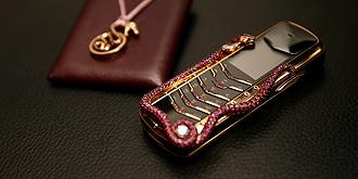 VERTU全球典藏版奢华手机优雅亮相北京SKP周年庆