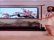 满屏尽是中国风!康佳艺术电视登陆CES 2018