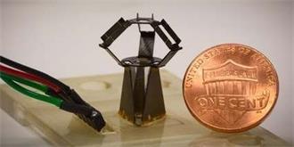 哈佛打造出全球最小的三角机械臂,可参与微创手术