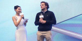 AWE2018:直击海信展台 传奇足球巨星迭戈弗兰空降现场