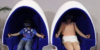 《头号玩家》点燃VR市场?英国Immotion融资50万英镑加速铺设VR蛋椅