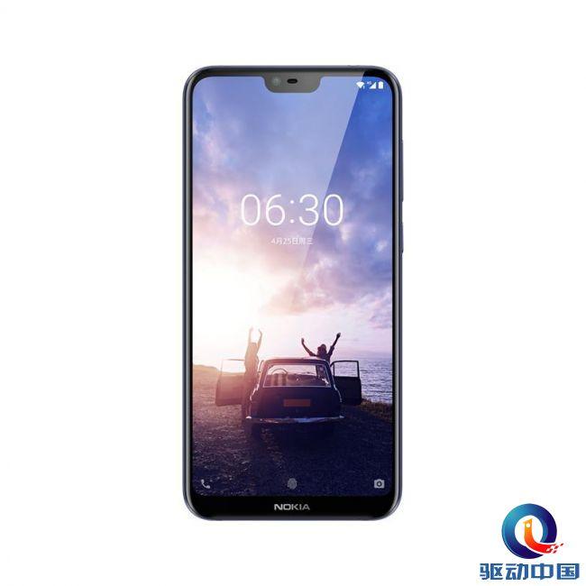 Nokia X6_正面