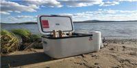自驾出游要风景,更要英得尔车载冰箱!