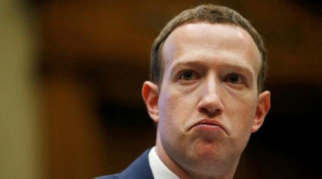 Facebook股价再次下跌,扎克伯格跌出福布斯实时富豪榜前五