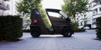 德国一设计团队发布微型电动车 车身可加长承载两名乘客