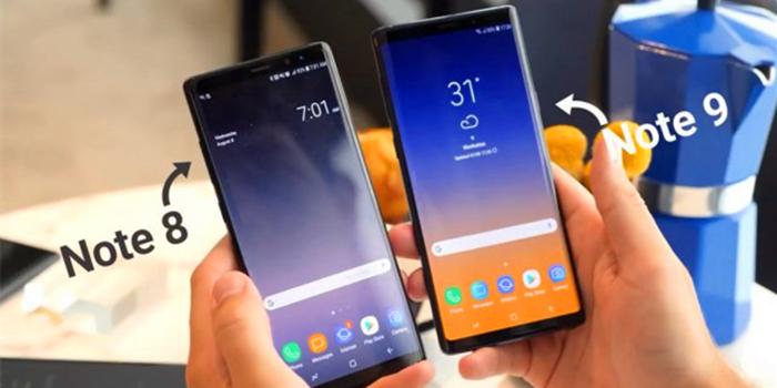 三星Note8和Note9全面对比,安卓机皇哪个强?