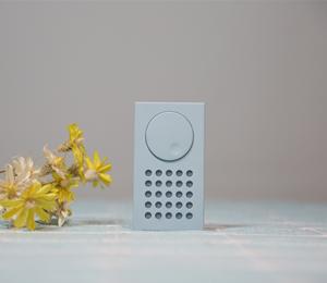 坚果砖式蓝牙小音箱:极简设计+经典元素 普通却又不平凡