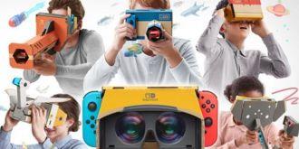 任天堂推出Switch游戏机专用VR套装,4月12日发售