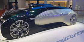 2019上海车展:配备L4级别自动驾驶技术 雷诺EZ-ULTIMO概念车首秀