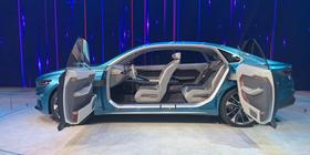 2019上海车展:全新概念车吉利PREFACE全球首发