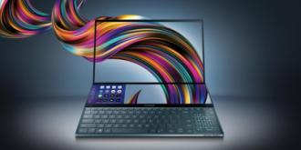 台北电脑展2019:华硕ZenBook Pro Duo双4K屏高阶笔记本发布