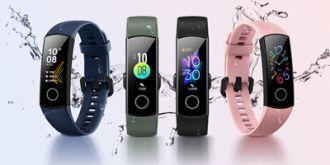 荣耀手环5正式发布:0.95英寸AMOLED幻彩屏,支持血氧检测,189元起售
