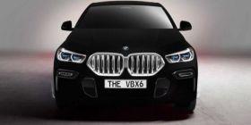 纯属噱头?全世界最黑宝马X6将亮相广州车展