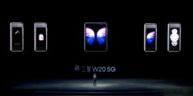 三星W20 5G正式发布:骁龙855 Plus/12+512G存储/多视角六摄,12月上市