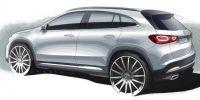 奔驰GLA发布新预告图 比现款更加SUV?