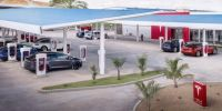 国产Model 3交付在即 特斯拉计划在国内建4000个以上充电桩