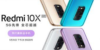 5G市场再添王者 Redmi 10X系列全面开启预约