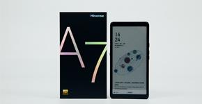 海信5G阅读手机A7彩墨屏CC版:配置大升级,阅读更尽兴