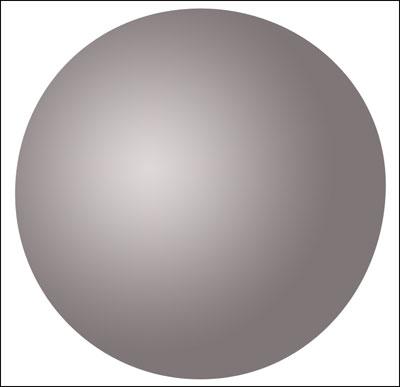 圆工具重复上一步骤,画一个同样的圆边缘与之前的重合(译者:或