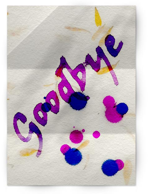 ps水粉画笔-Photoshop特效 水粉纸上的手绘字
