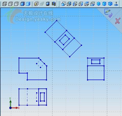 将CAD图纸转换为SolidWorks三维模型图片