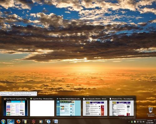 Windows 7 M3 最新组图