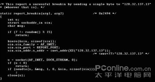 計算機病毒的英語組成