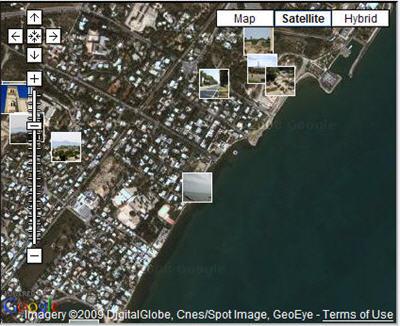 谷歌地图街景服务允许用户上传所拍图片