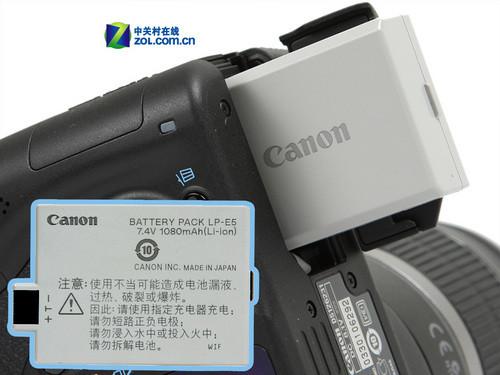 入门单反性能旗舰 佳能EOS 500D评测首发