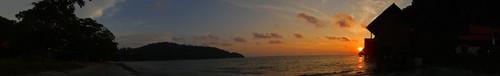 索尼TX5海边全景效果
