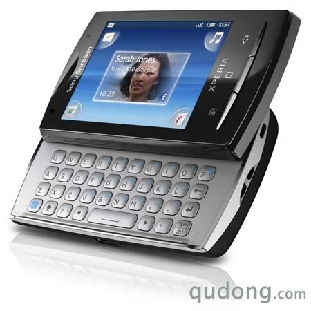 索尼爱立信XPERIATM精巧智能手机U20i(QWERTY侧滑全键盘)-索尼