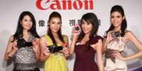 Canon在台湾新上市六款数码相机