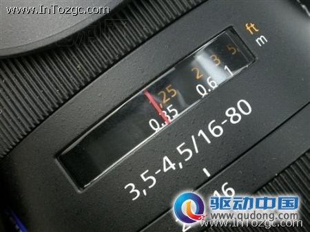 配蔡司16-80镜头 索尼α550开票送卡8990