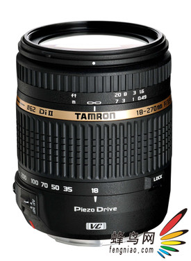 腾龙首款PZD超声波马达18-270mm镜头上市