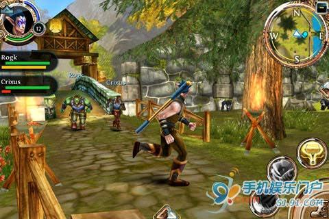 ...混沌与秩序online》进行首次更新以便维持玩家对该款游戏的高...