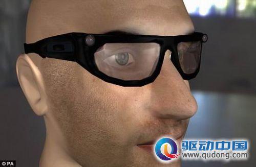 英最新设计智能眼镜能让弱视者看到物体