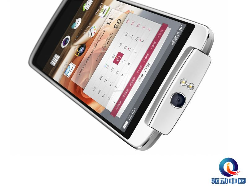 作为全球首款配备旋转摄像头的大屏智能手机,oppo n1再次引领了业内的