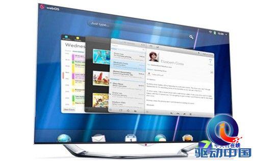 Palm借电视复活?LG将于CES推出web电视