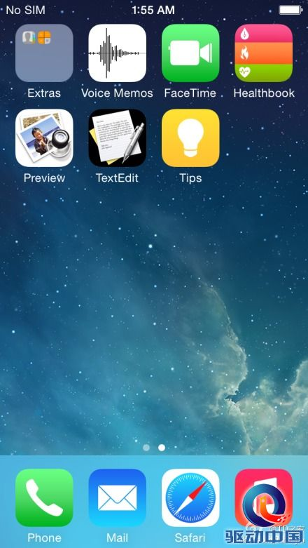苹果ios 8.0界面曝光 与ios7差别不大