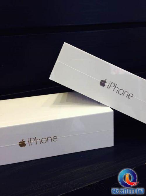 国行iPhone 6首发开箱图赏!有本事你激活啊